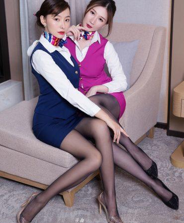 Goddes No.882 Stewardess Cora Genko Double Uniform