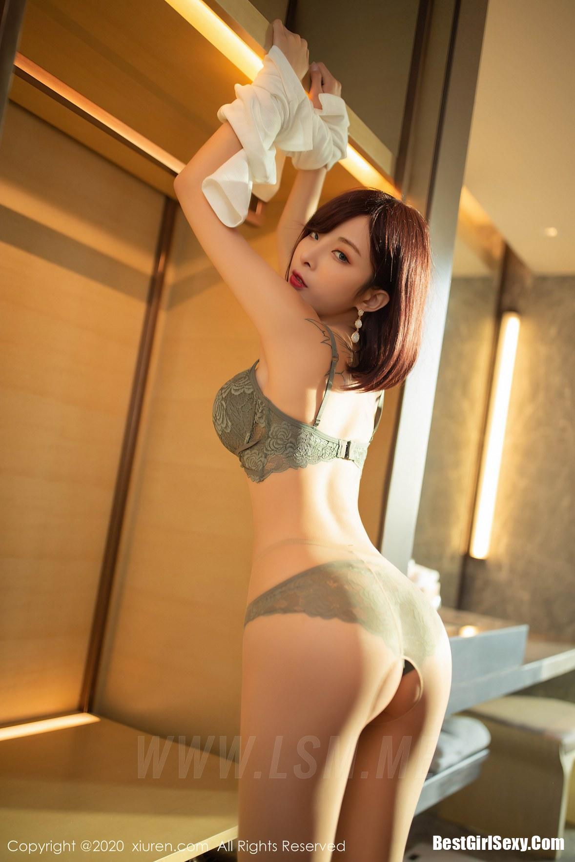 XiuRen No.2296 Chen Xiao Miao Beautiful Butt Pork Goddess