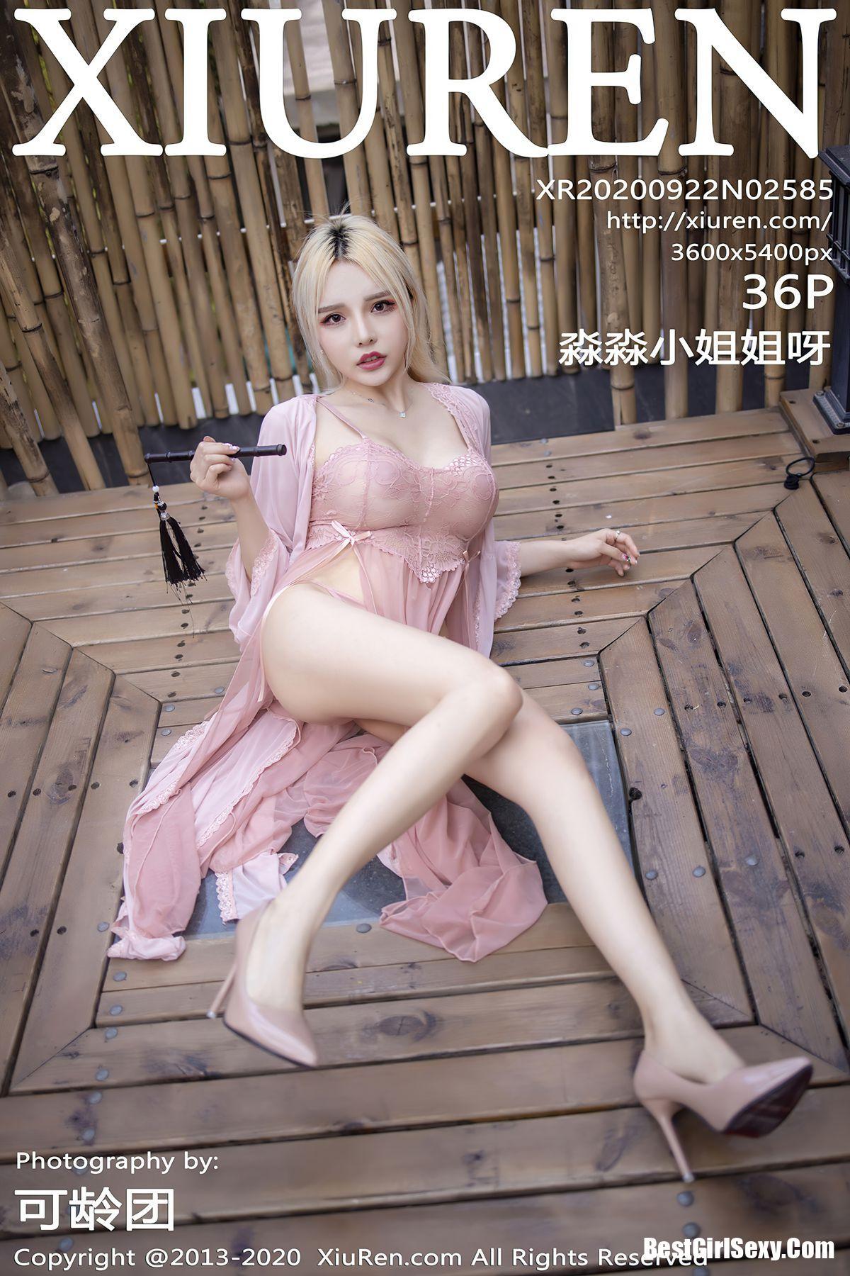 XiuRen秀人网 Vol.2585 Wang Zhao Lu
