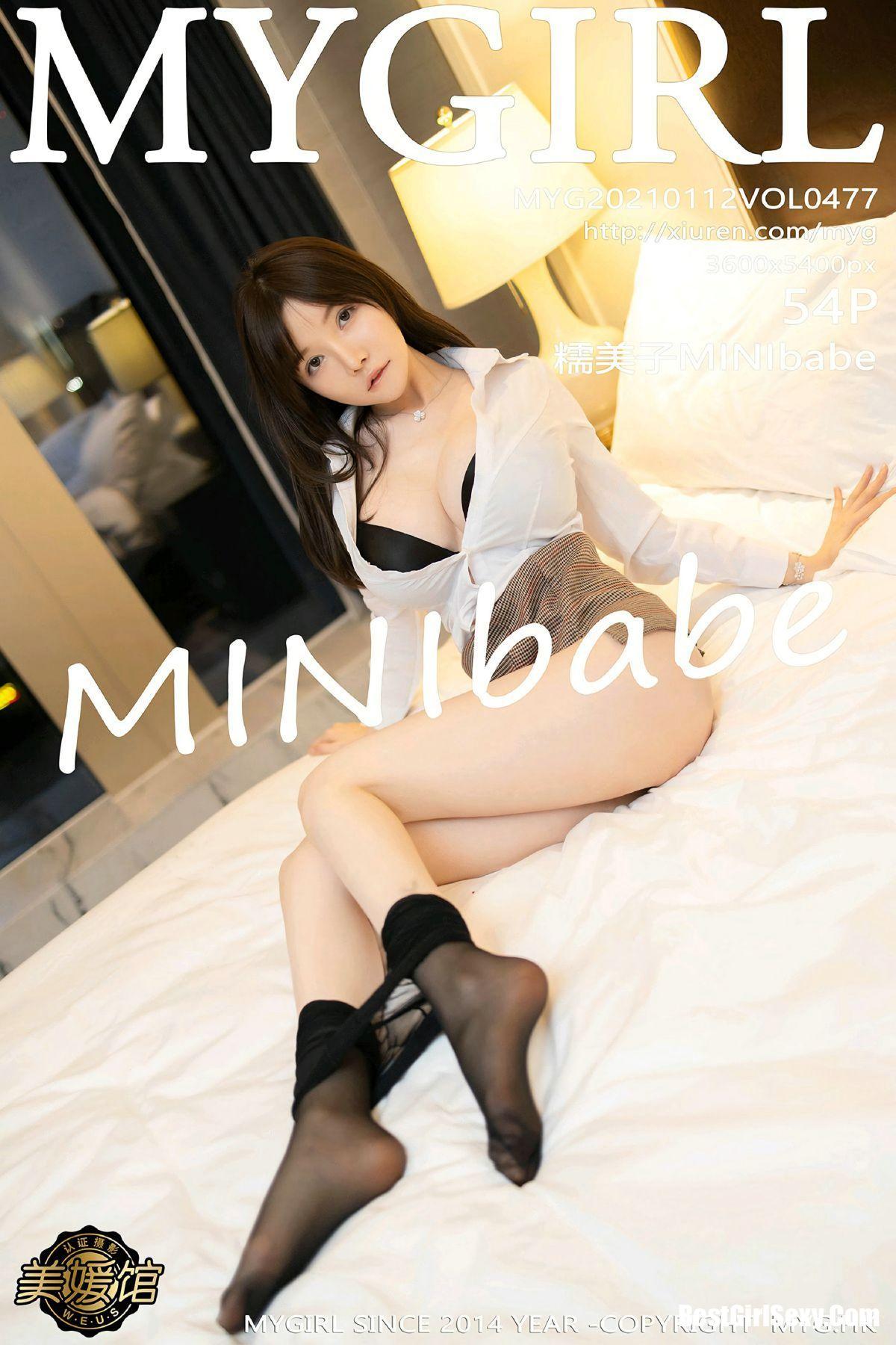 MyGirl美媛馆 Vol.477 Mini Da Meng Meng