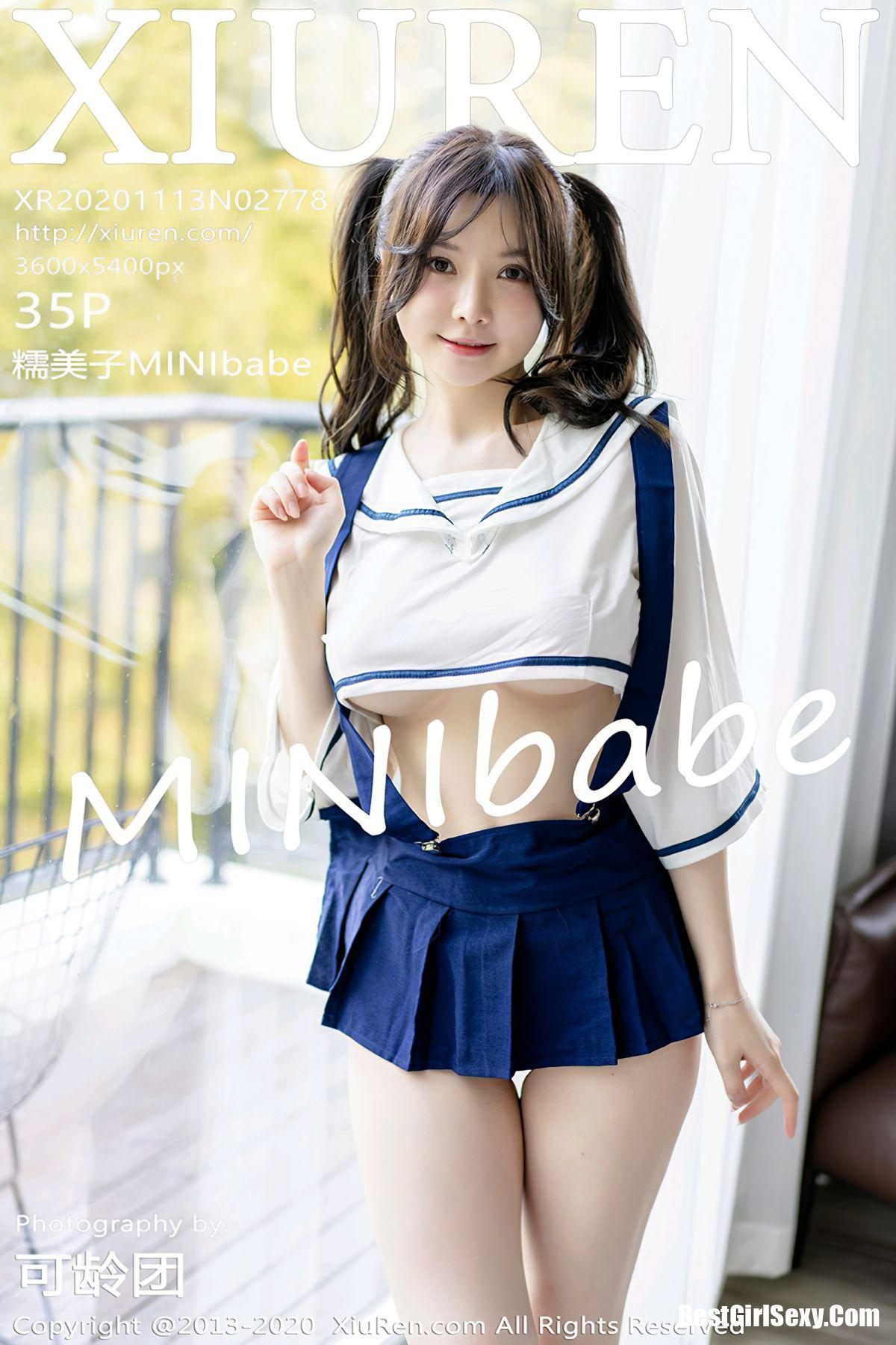 XiuRen秀人网 No.2778 Mini Da Meng Meng