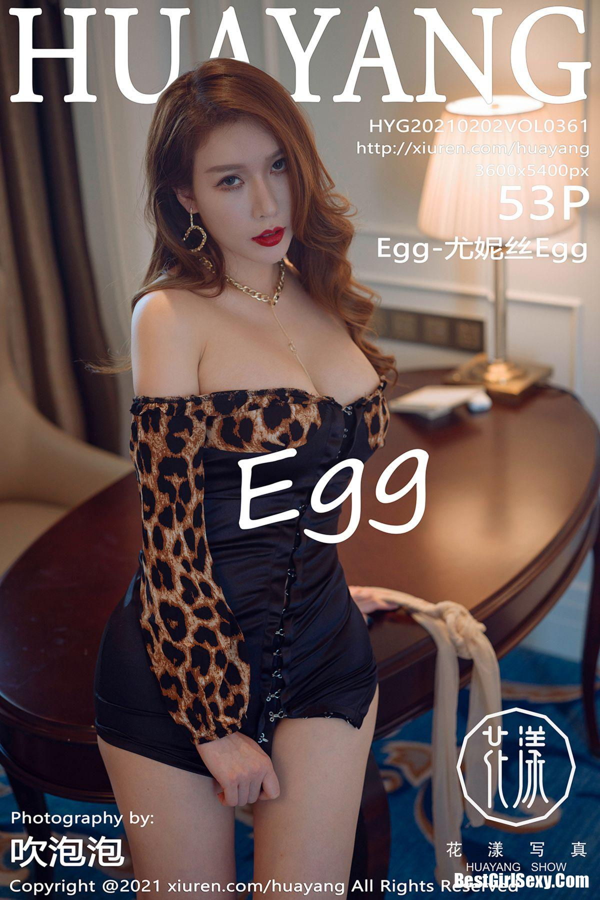 HuaYang花漾Show Vol.361 Egg Younisi