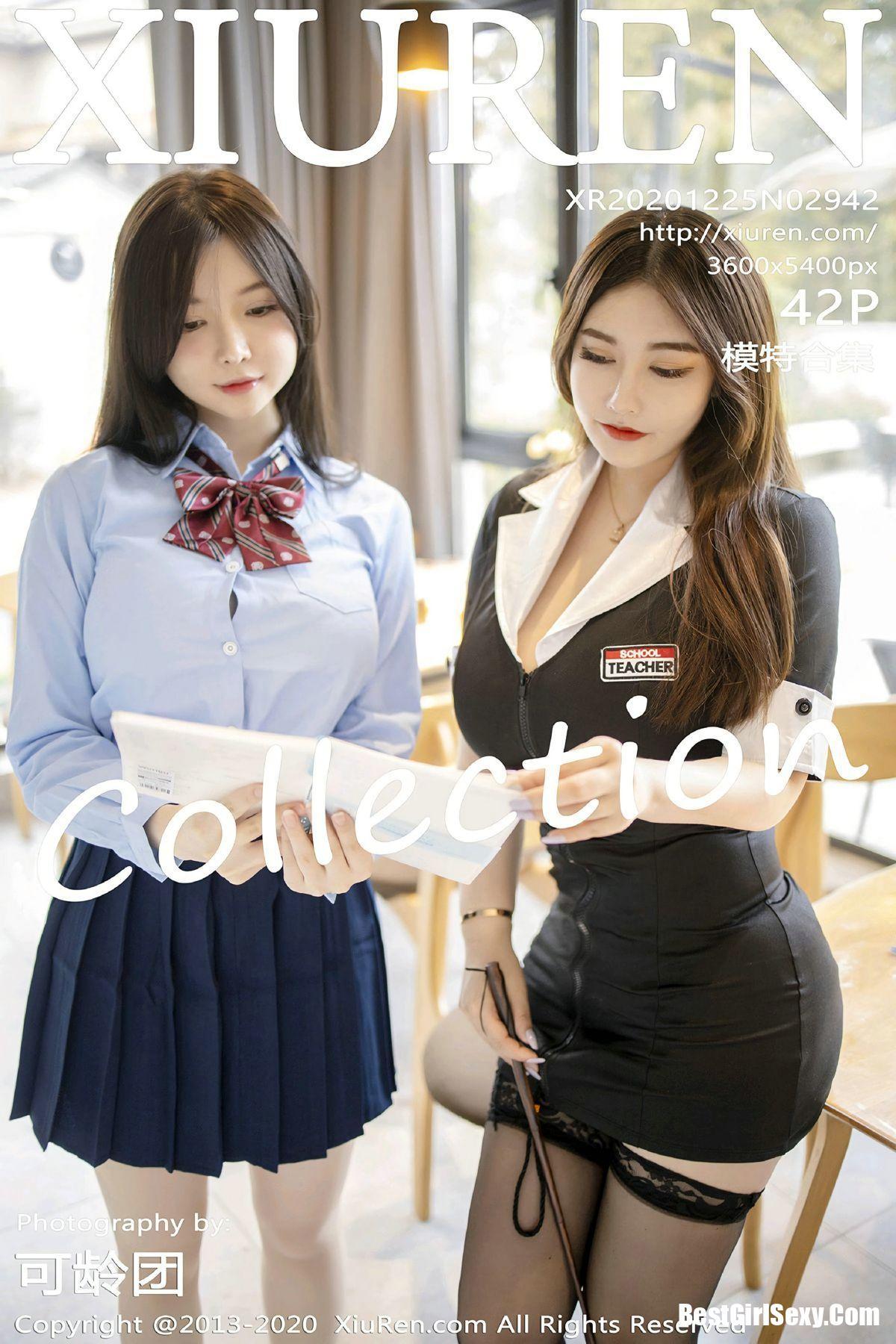 XiuRen秀人网 No.2942 Mini Da Meng Meng & Ruan Ruan Roro