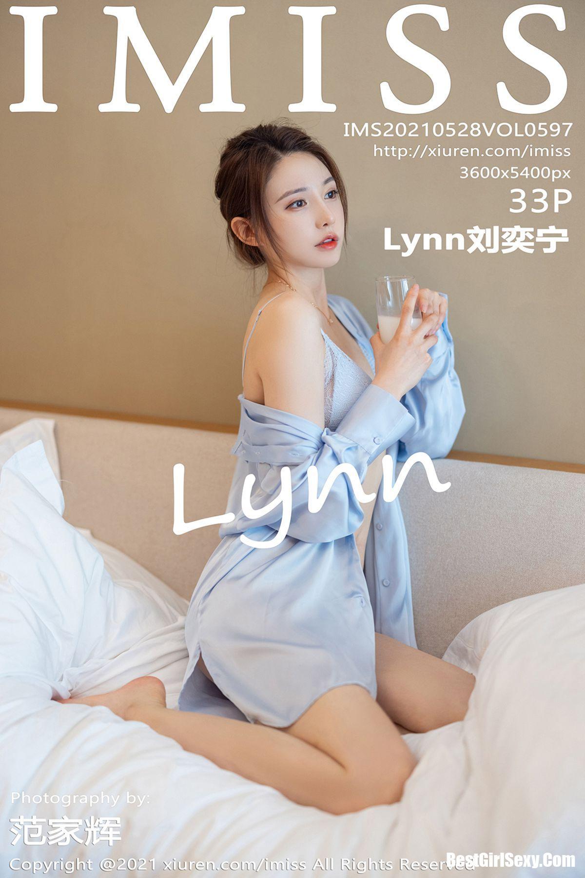IMiss爱蜜社 Vol.597 Lynn Liu Yi Ning 200