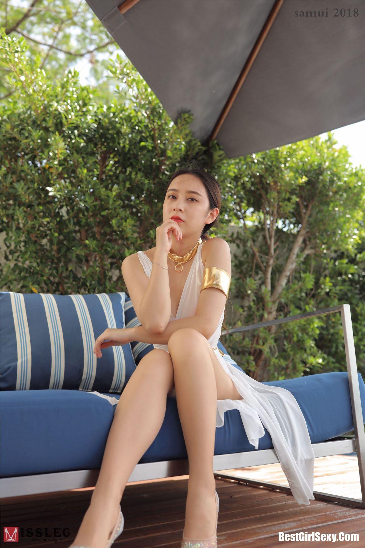 MISSLEG蜜丝 L002 Qiao Yi Lin 1