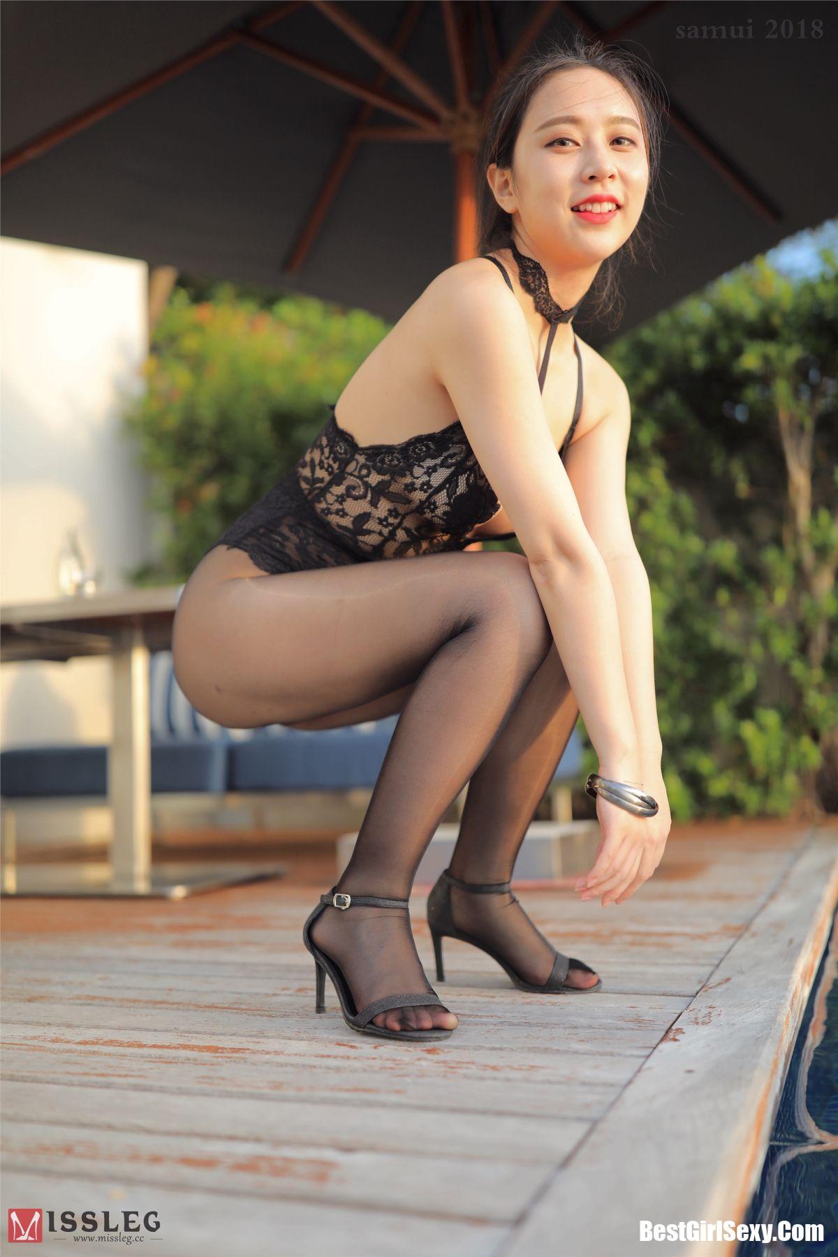 乔依琳, Qiao Yi Lin, MISSLEG蜜丝 L003 Qiao Yi Lin, MISSLEG蜜丝 L003