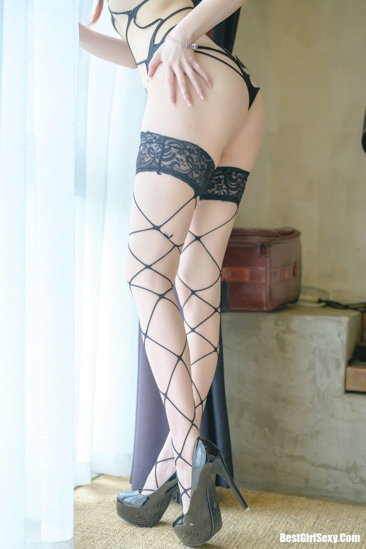 雪晴Astra, 小恶魔网袜, Coser@雪晴Astra Vol.023 小恶魔网袜