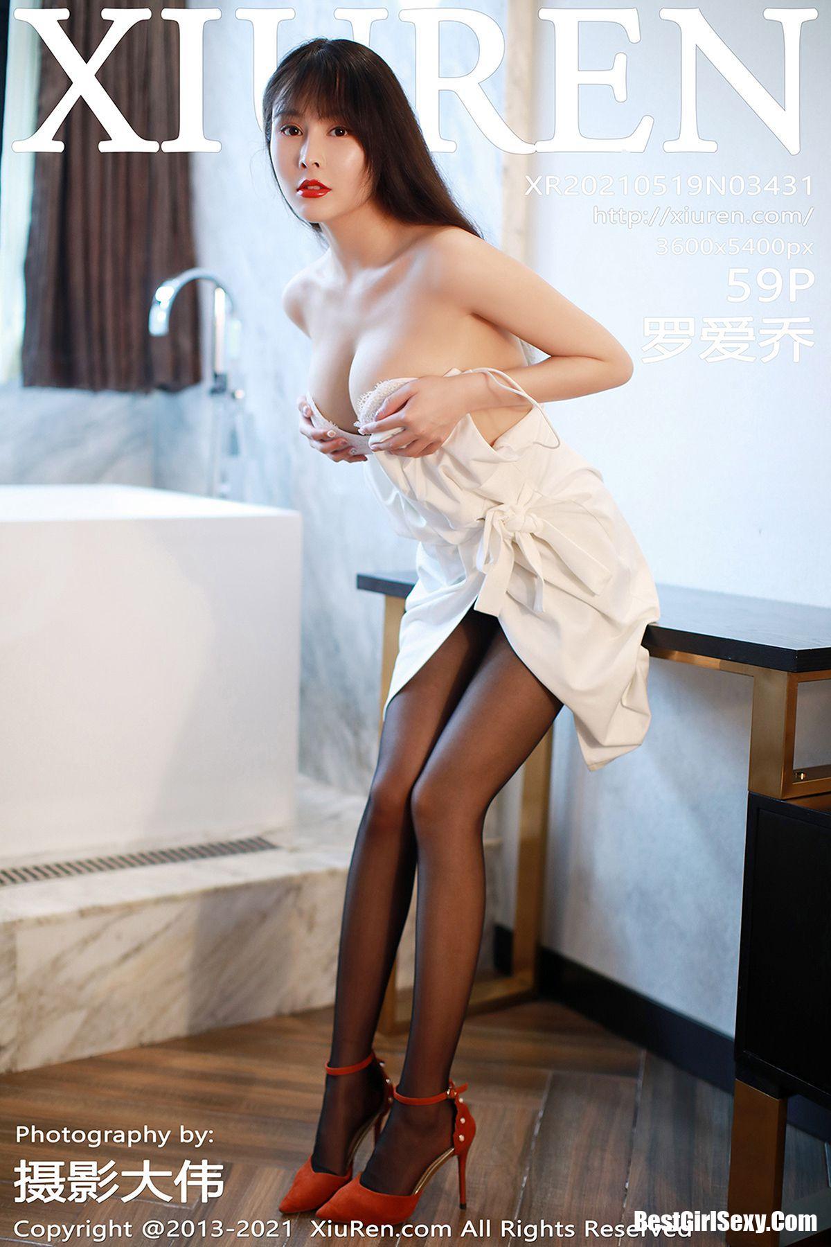 XiuRen秀人网 No.3431 Luo Ai Qiao 1