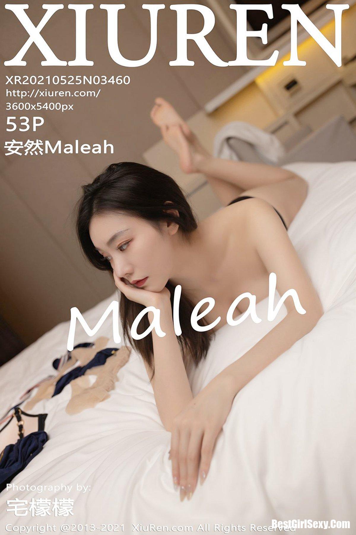 XiuRen秀人网 No.3460 An Ran Maleah 478