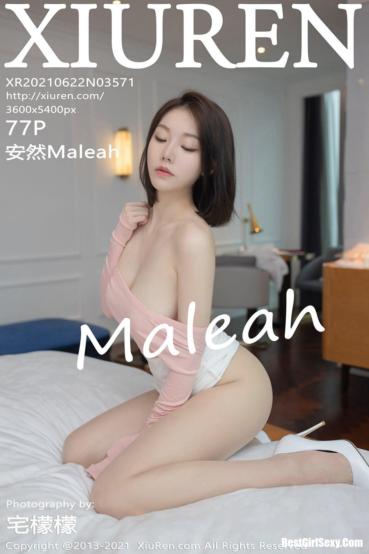 XiuRen秀人网 No.3571 An Ran Maleah 317