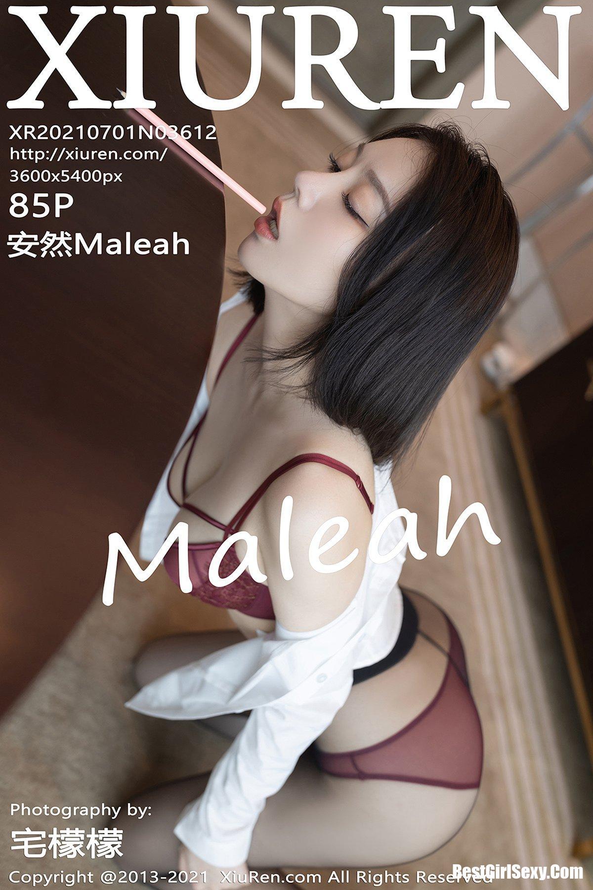 XiuRen秀人网 No.3612 An Ran Maleah 230
