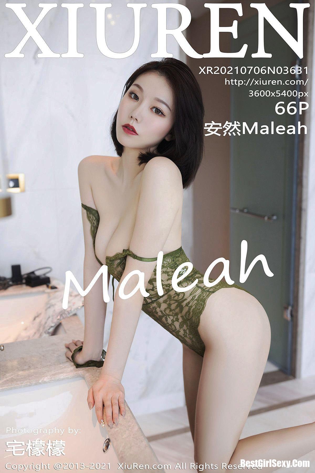 XiuRen秀人网 No.3631 An Ran Maleah 162
