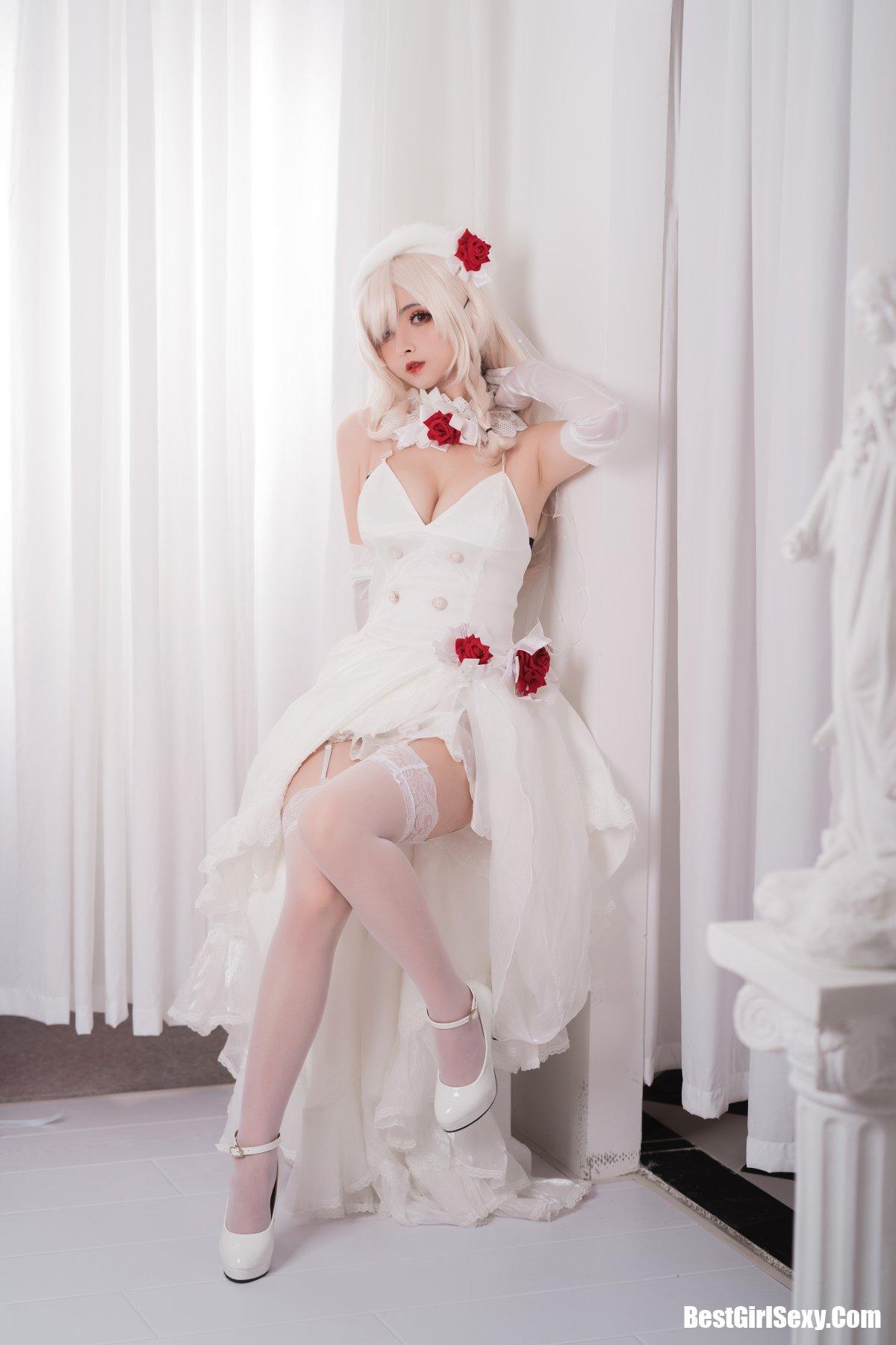 rioko凉凉子, G36c花嫁, Coser@rioko凉凉子 Vol.001 G36c花嫁