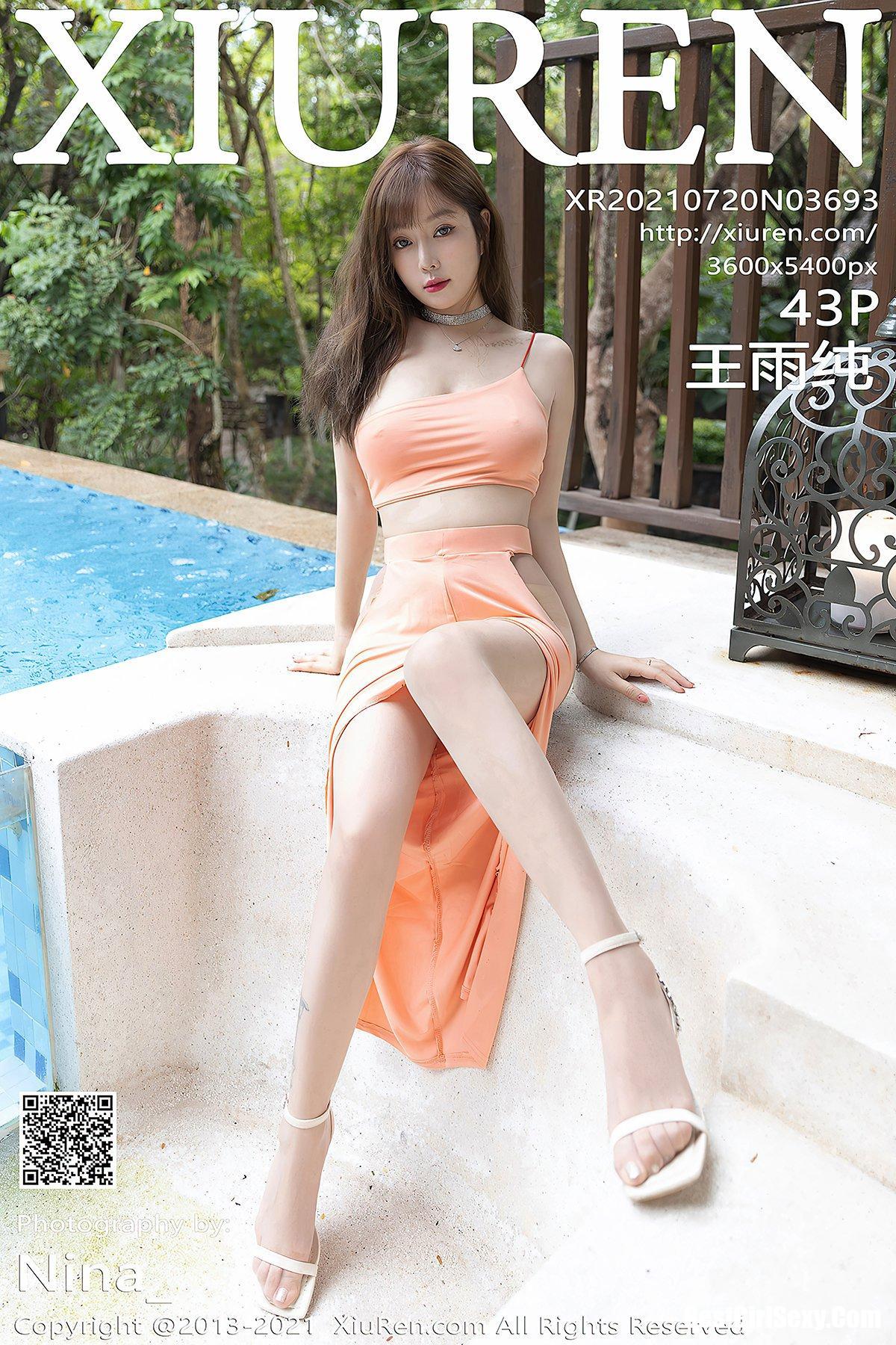 XiuRen秀人网 No.3693 Wang Yu Chun 347
