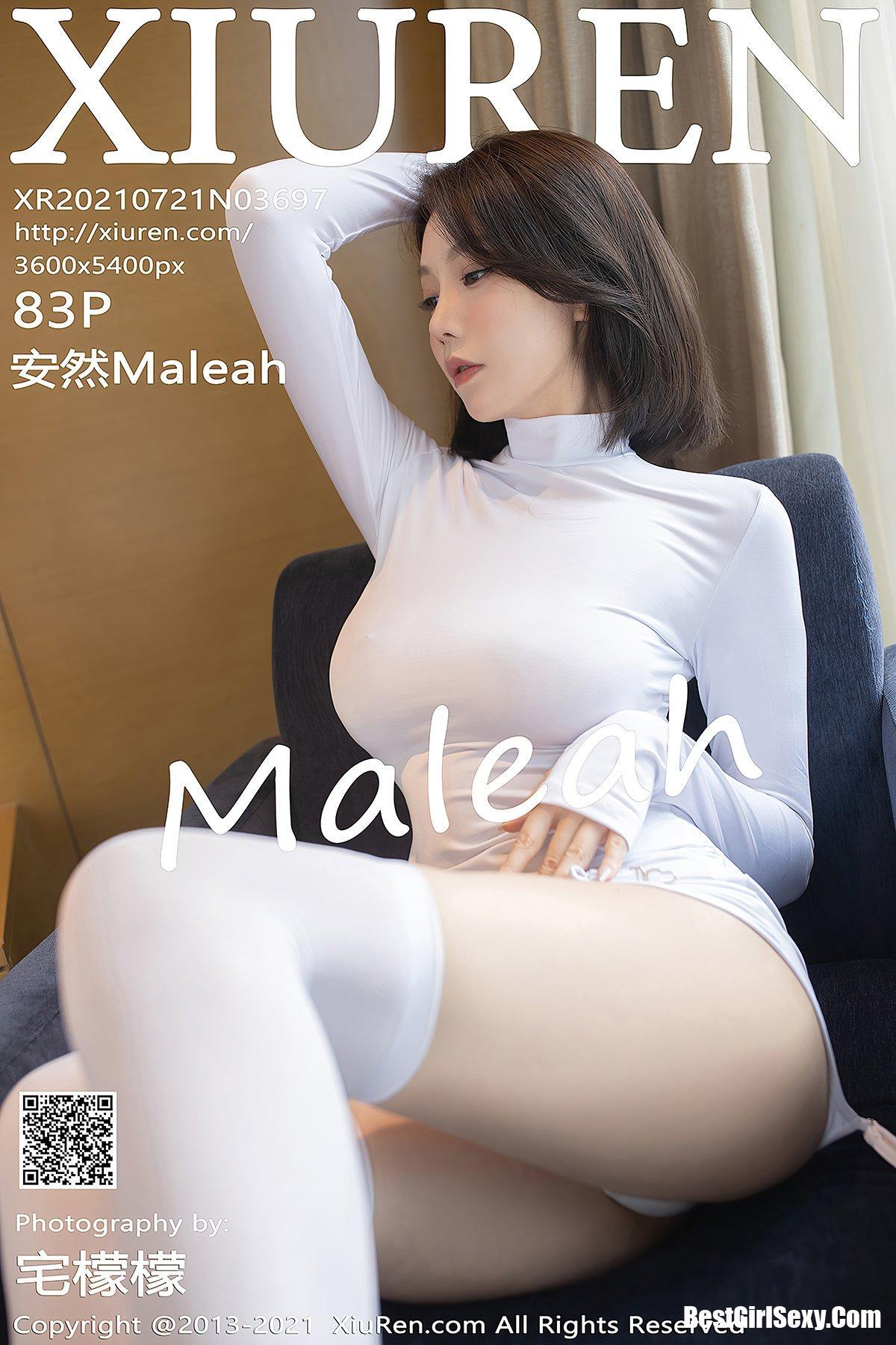 XiuRen秀人网 No.3697 An Ran Maleah 1