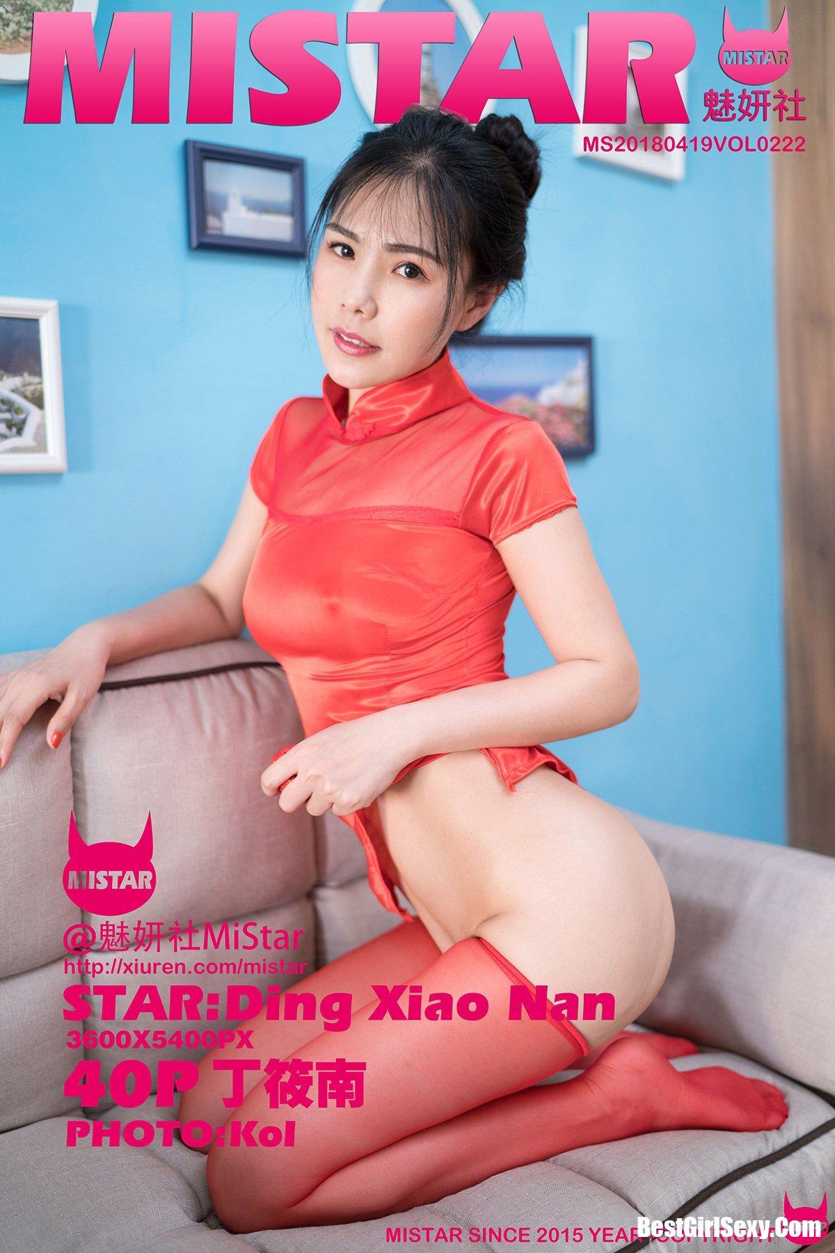 MiStar魅妍社 Vol.222 Ding Xiao Nan 9